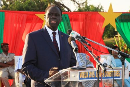Message du président Michel Kafando pour la présidentielle et législatives du 29 novembre 2015 .