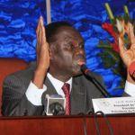 Le Président du Faso Michel Kafando.