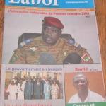 Le journal trimestriel Labor N° double 14 et 15 en vente au Burkina Faso.