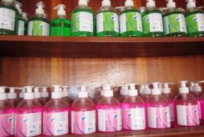 DERMO BURKINA et sa gamme de produits de désinfection pour l'hygiène et contre Ebola