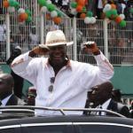 Le président ivoirien, Alassane Ouattara, est désormais le candidat officiel du RHDP pour la présidentielle d'octobre 2015.REUTERS/Luc Gnago