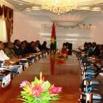 Le gouvernement ZIDA I à son 1er conseil des ministres le 24 novembre 2014.