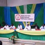 Des membres du bureau exécutif national de la NAFA.