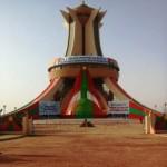 Le Mémorial aux Héros nationaux du Burkina à Ouagadougou.