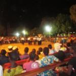 La soirée culturelle dans l'enceinte de la paroisse de la Patte d'Oie le 29 Mai 2015.