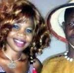 Awa Nadia et Dicko fils,deux artistes musiciens burkinabè à succès, victimes d'accident le 31 mai 2015.