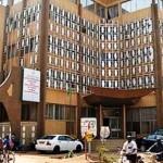 L'immeuble du Ministère de la fonction publique,du travail et de la sécurité sociale ,à proximité de l'avenue Kwamé N'KRUMAH à Ouagadougou.