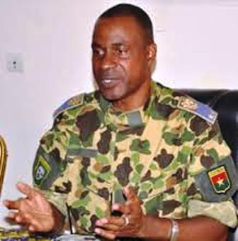-Général Gilbert Diendéré, président du CND