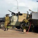 Vue d'un modèle de l'artillerie lourde du RSP qu'il ne voudrait rendre.Alors pourquoi ne pas toujours continuer de dialoguer pour un compromis surtout que certains citoyens pensent qu'il serait préférable de redéployer le RSP dans la lutte anti-terroriste et contre les coupeurs de routes.