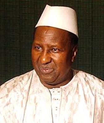 Alpha Oumar KONARE. Ancien président du Mali.