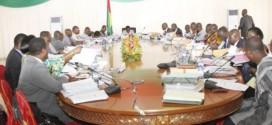 Conseil des ministres du 25 novembre 2015:les grandes lignes du budget de l'Etat burkinabè en 2016