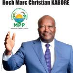 Roch Marc Christian KABORE  ,candidat du MPP à la présidentielle 2015..