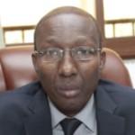 Commandant Alain Jean-Claude Zagré ,ministre délégué à la sécurité du gouvernement burkinabè de transition.