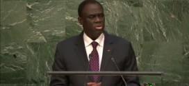Discours du président Michel Kafando à la tribune de l'ONU:» Je suis venu exalter la liberté»