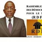 Salvador Maurice Yaméogo,candidat à la présidentielle 2015 au Burkina.
