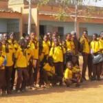 Des élèves du Lycée privé la Cour du Savoir à Ouagadougou.Burkina Faso.(Photo: laborpresse.net)