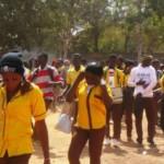 Des élèves du Lycée privé la Cour du Savoir au quartier Kourritenga de Ouagadougou.Tél:(00226) 25 46 49 15