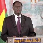 """Président Michel Kafando:""""La Transition a fini ainsi sa mission, mais beaucoup reste à faire pour le Burkina nouveau en marche. En vertu de la continuité de l'Etat, et parce qu'au fond, la Transition a fait le lit de ceux qui nous remplacent, je veux leur dire que le combat étant collégial et l'objectif commun, nous sommes prêts à les accompagner pour qu'ils réussissent leur mission."""""""