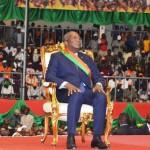 Roch Marc Christian Kaboré,Président du Faso à compter du 29 décembre 2015 pour un mandat de 5 ans renouvelable une fois:''Je voudrais, en ce moment solennel, rappeler à la face du monde que la victoire du 29 novembre 2015, n'est pas seulement la victoire d'un candidat ou d'un parti mais celle de tout un peuple insurgé. ''