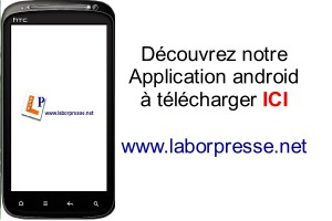 L'Application Androïd de Laborpresse à télécharger