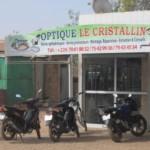 Optique le Cristallin est situé dernière la BCEAO ,côté-ouest à Ouagadougou .A proximité de la Place de la Nation et du Messe des sous officiers.(Photo:laborpresse.net)