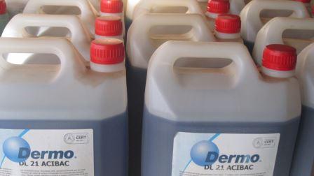 -DL 21 ACIBAC : nettoyant bactéricide.