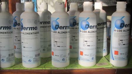 DERMO BURKINA et sa gamme de produits de désinfection pour mains,surfaces et aliments