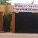 Le siège de la Fondation de l'ex premier ministre burkinabè de la transition à Ouagadougou.