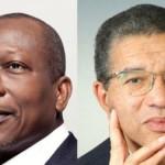 Le Premier ministre sortant, Lionel Zinsou(à droite), a reconnu sa défaite face à l'homme d'affaires Patrice Talon.