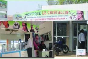 Optique le Cristallin à Ouagadougou:des verres correcteurs et simples pour la protection des yeux