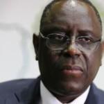 Le président sénégalais Macky Sall. © AFP PHOTO / THOMAS SAMSON