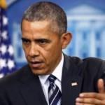Le président américain Barack Obama, photographié le 5 février 2016, lors d'un point presse à la Maison Blanche. REUTERS/Jonathan Ernst