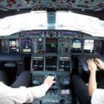 Dans le cockpit de l'Airbus A380. Getty Images/Alexander Hassenstein