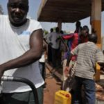 Une station essence à Bamako, au Mali. © © Issouf Sanogo/AFP