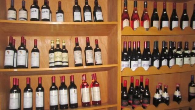 Cave ORCHIDEE vins étagères 9