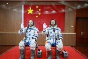 La Chine envoie deux hommes sur Tiangong-2, son laboratoire spatial