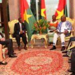 Quatre nouveaux Ambassadeurs remettent leurs Lettres de créance au Président du Faso