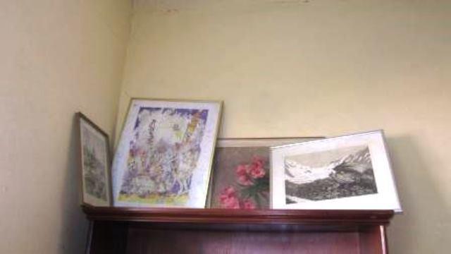 Des tableaux de grands peintres.
