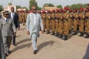 Conseil d'administration 2017 de la Défense:message du Président du Faso à l'armée