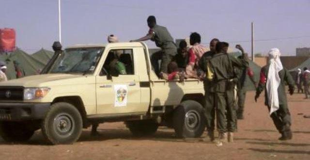 Détachement militaire de Nassoumbou dans la partie nord du Burkina:des tirs d'individus non identifiés le 20 mars 2017