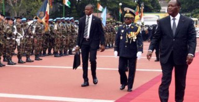 Côte Ivoire: le président Ouattara limoge les chefs des forces de sécurité