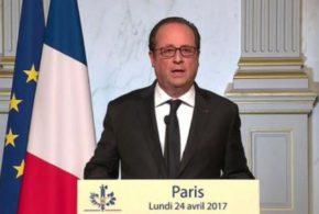 François Hollande votera Emmanuel Macron face au «risque» du FN