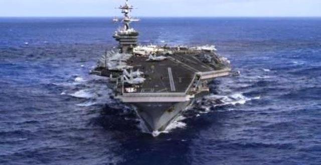 Des navires américains en route vers la péninsule coréenne