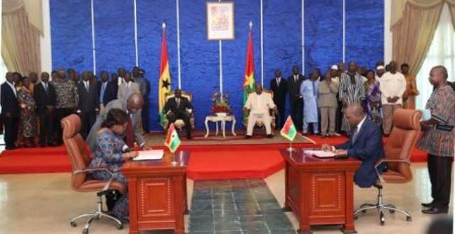 COMMUNIQUE CONJOINT BURKINA FASO – REPUBLIQUE DU GHANA