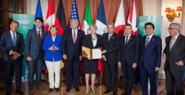 Sommet du G7: une déclaration commune contre le terrorisme