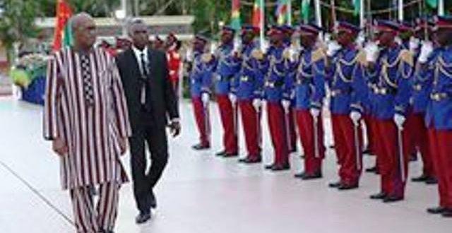 Académie militaire Georges NAMOANO du Burkina Faso : Le Président du Faso baptise la 16e promotion « Persévérance»