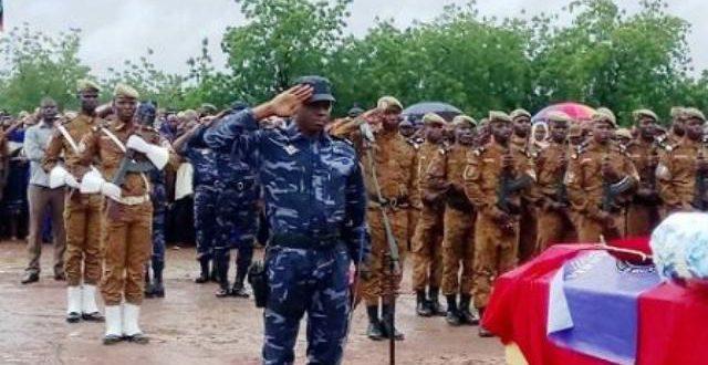 Attaque terroriste du 13 Août 2017 à Ouagadougou: le gendarme blessé et mort a été inhumé le 21 Août.