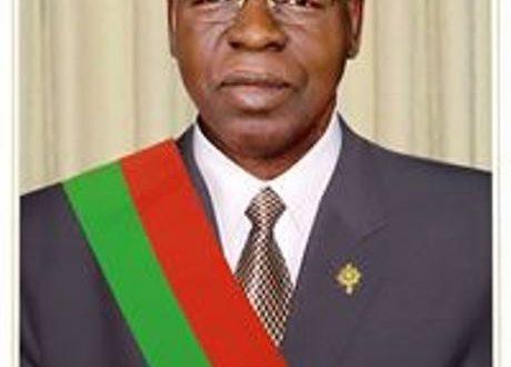 Décès du Docteur Salifou DIALLO, Président de l'Assemblée nationale du Burkina Faso