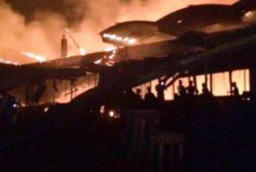 Côte d'ivoire: grave incendie sur le marché d'Abobo à Abidjan