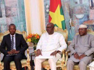 Des miniers chez le Président du Faso